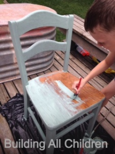 painting chair 2