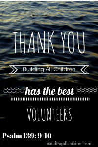 Building All Children-Volunteers