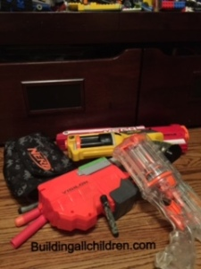 I will never look at a Nerf bullet the same…