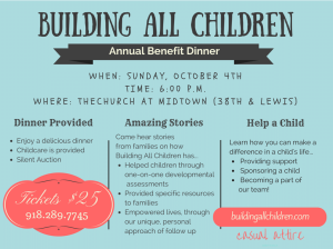 Building All Children's Annual Benefit Dinner