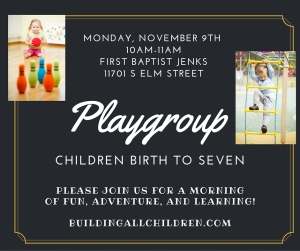 IT'S PLAYGROUP TIME