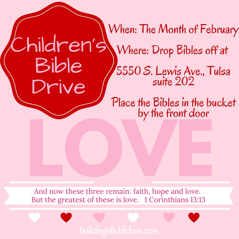 Children's Bible Drive…